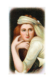 Lady Emma Hamilton (C1765-185), Mistress of Horatio Nelson Giclee Print by George Romney