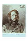 Portrait of Alexei Pavlovich Lanskoy (1789-185), 1813 Giclee Print by Alexander Osipovich Orlowski