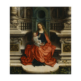 The Madonna and Child Enthroned, 16th Century Giclee Print by Adriaen Isenbrant