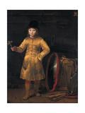 Otto Van Der Waeyen in a Polish Costume, 1656 Lámina giclée por Ferdinand Bol