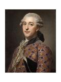Portrait of Prince Vladimir Borisovich Golitsyn (1731-179), 1762 Giclee Print by Alexander Roslin