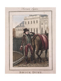 Brick Dust, Cries of London, 1804 Giclee Print by William Marshall Craig