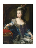 Portrait of the Countess Maria Benedetta Di San Martino Giclee Print by Pompeo Girolamo Batoni