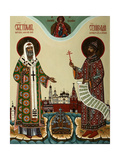 Tikhon, Patriarch of Moscow and Martyr Nicholas II, 2000 Giclee Print