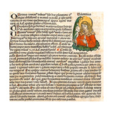 Saint Valentine (From the Nuremberg Chronicl), 1493 Giclee Print