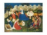 The Little Garden of Paradise Giclée-tryk