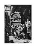 Jolly Companions, 1882 Giclée-Druck von Eduard Von Grutzner