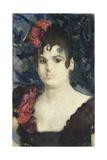 Portrait of Tatyana Lyubatovich as Carmen, 1890S Giclee Print by Mikhail Alexandrovich Vrubel