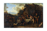 Merrymeeting, 17th Century Giclee Print by Jan Miel