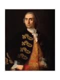 Portrait of Ivan Kotsarev, 1757-1759 Giclée-Druck von Ivan Yakovlevich Vishnyakov