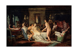 Eve-Of-The-Wedding Party in a Bath, 1885 Giclee Print by Firs Sergeevich Zhuravlev