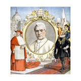 Pope Pius X, 1903 Giclee Print