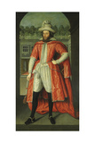Portrait of William Pope, 1st Earl of Downe (1573-163) as a Knight of the Bath, C. 1610 Giclee Print by Robert Peake The Elder