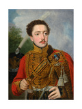 Portrait of Pavel Semyonovich Masyukov, 1817 Giclee Print by Vladimir Lukich Borovikovsky