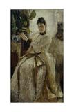 Portrait of Countess Sophia Nikolayevna Golitsyna, 1886 Giclee Print by Konstantin Alexeyevich Korovin