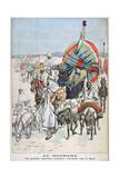 The Large Annual Caravans Heading North, Gourara, Algeria, 1903 Giclee Print