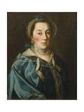 Portrait of Countess Yelizaveta Franzevna Buturliina, 1763 Giclee Print by Alexei Petrovich Antropov