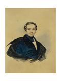 Portrait of Count Fyodor Fyodorovich Golitsyn (1794-185), 1833 Giclee Print by Karl Pavlovich Briullov