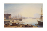Sunrise over the Neva in St. Petersburg, 1830 Giclee Print by Maxim Nikiphorovich Vorobyev