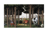 The Story of Nastagio Degli Onesti (Second Episode), Ca 1483 Giclee Print by Sandro Botticelli