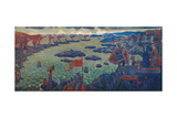 Ready for the Campaign, 1910 Giclee Print by Nicholas Roerich