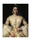 Portrait of Stepanida Yakovleva (1738-178), after 1757 Giclée-Druck von Ivan Yakovlevich Vishnyakov