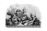 Chinese Summer Villa, 1847 Giclee Print by  Evans