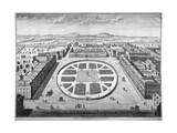 Grosvenor Square, Westminster, London, 1754 Giclee Print