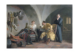 False Dmitry I in the Adam Wisniowiecki House, 1876 Giclee Print by Nikolai Vasilyevich Nevrev