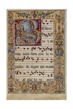 The Gradual. Initial R: the Resurrection, C. 1500 Gicléetryck av  Antonio da Monza