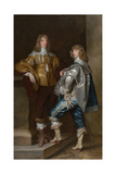 Lord John Stuart and His Brother, Lord Bernard Stuart, Ca 1638 Giclee Print by Anthonis van Dyck
