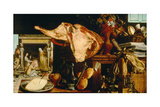 Vanity Still Life (Christ in the House of Martha and Mar), 1552 Giclee Print by Pieter Aertsen