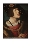 Portrait of Charles V of Spain (1500-155), 1519 Giclee Print by Bernaert Van Orley
