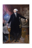 Portrait of George Washington Giclee Print by Giuseppe Perovani
