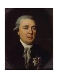 Portrait of Count Alexander Romanovich Vorontsov (1741-180) Giclee Print by Johann Heinrich Schmidt