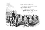 Negro Labourers Weeding Cotton under the Eyes of a Mounted White Overseer, Southern States of USA Giclee Print