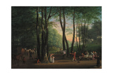 The Dancing Glade at Sorgenfri, North of Copenhagen, 1800 Giclee Print by Jens Juel