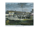 A Street in Salt Lake City, Utah, USA, C1880 Giclee Print