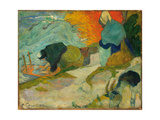 Washerwomen in Arles (Laveuses À Arle), 1888 Giclee Print by Paul Gauguin