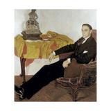 Portrait of Michail Ivanovich Tereshchenko (1886-195), 1911-1914 Giclee Print by Alexander Yakovlevich Golovin