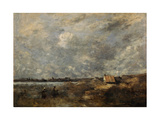 Stormy Weather. Pas De Calais, C. 1870 Giclee Print by Jean-Baptiste Camille Corot