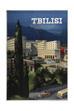Tbilisi (Poster of the Intourist Compan), 1935 Giclee Print by Viktor Semyonovich Klimashin
