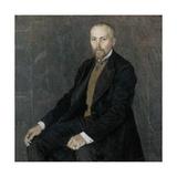 Portrait of the Artist Nicholas Roerich (1874-194), 1907 Giclee Print by Alexander Yakovlevich Golovin