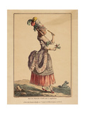 A Polonaise Dress with Draped Overskirt, 1778 Giclee Print by Pierre Thomas Le Clerc