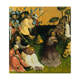 The Agony in the Garden. the Wings of the Wurzach Altar, 1437 Giclee Print