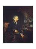 Portrait of the Artist Dimitri Levitsky (1735-182), 1812 Giclee Print by Ivan Eremeevich Yakovlev