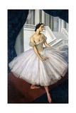 Portrait of the Ballerina Anna Pavlova (1881-193), 1924 Giclee Print by Alexander Yevgenyevich Yakovlev