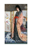 La Princesse Du Pay De La Porcelaine, 1864 Giclee Print by James Abbott McNeill Whistler