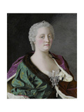 Portrait of Empress Maria Theresia of Austria (1717-178), 1747 Giclee Print by Jean-Étienne Liotard