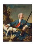 Portrait of Prince Alexander Kurakin (1697-174), 1728 Giclee Print by Jean-Marc Nattier